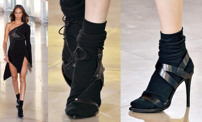 Sandali calzini inverno 2016