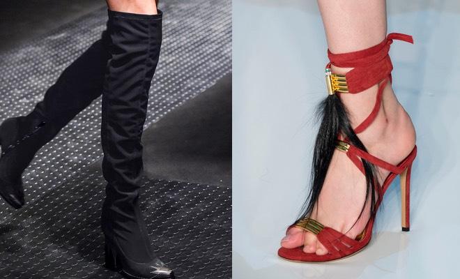 stivali sandali donna inverno 2016