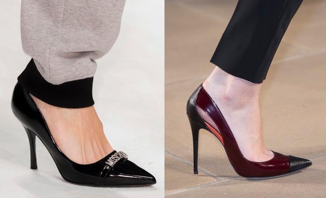 Scarpe donna tacco alto inverno 2016