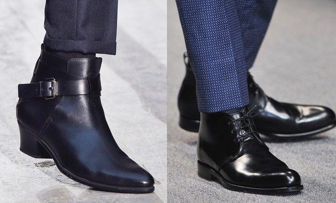 Scarpe uomo inverno pantaloni blu