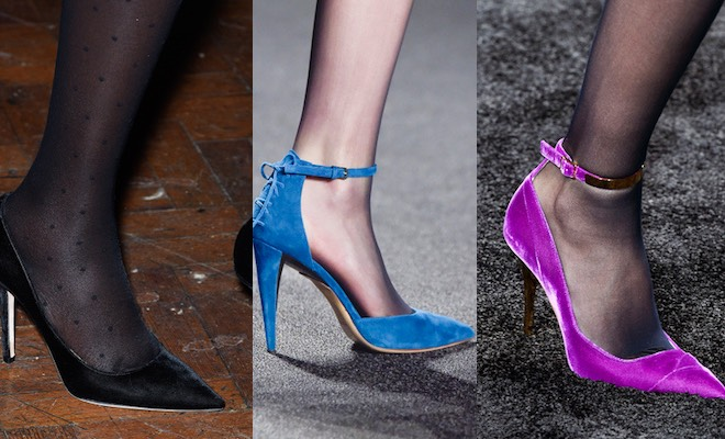 calze nere scarpe inverno 2016