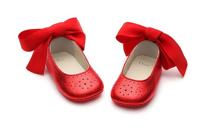scarpe bambina Baby Dior