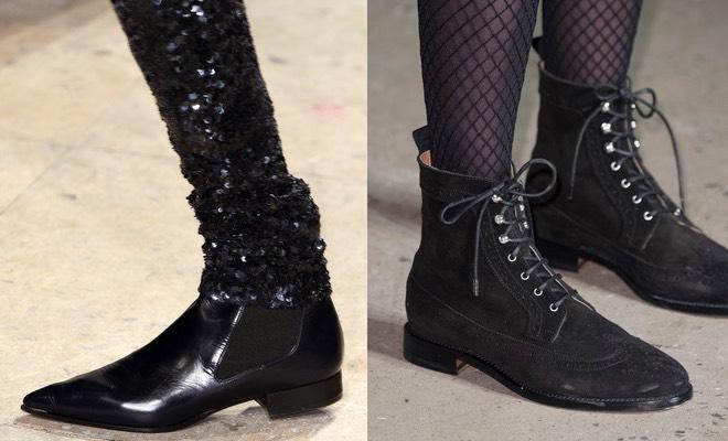 Stivali senza tacco, le scarpe moda dell'inverno Pagina 10