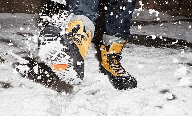 converse scarpe neve