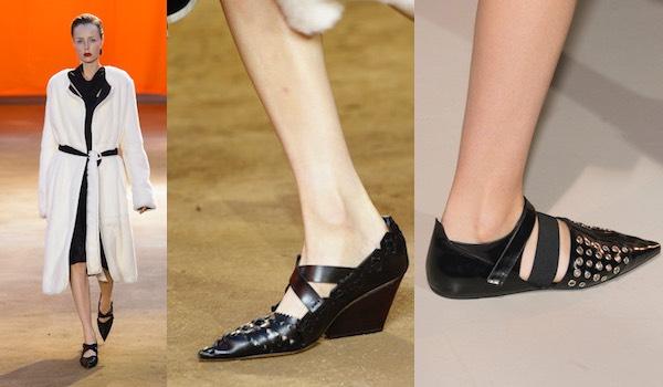 scarpe a punta donna primavera estate 2016