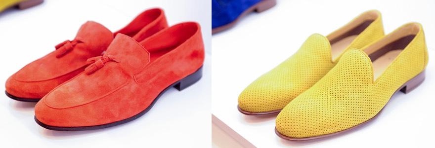 scarpe uomo gialle e rosse estate 2016