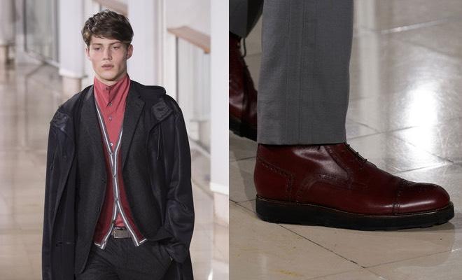 Hermes scarpe abiti uomo inerno 2016-2017