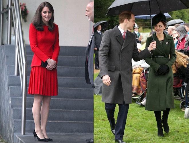 Kate Middleton inverno 2015