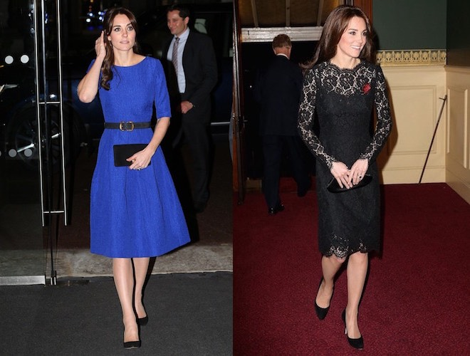 Kate Middleton look dicembre 2015