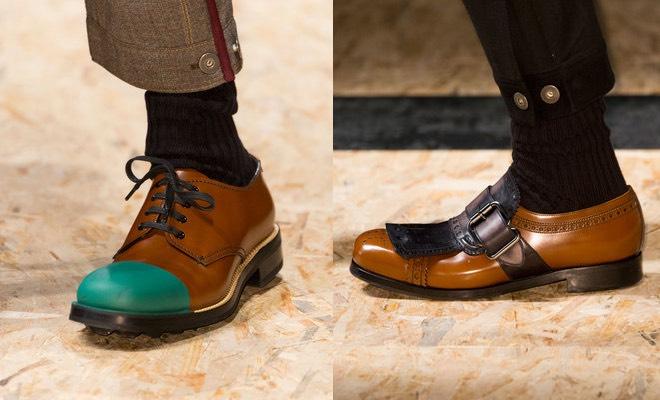c12f6b5d86 Prada uomo autunno inverno 2016-2017, le scarpe. Foto - Scarpe Alte ...