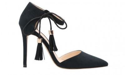 Primadonna scarpe nere tacco primavera 2016