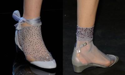 Scarpe basse calzini Alta Moda Armani 2016