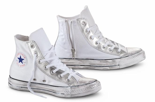 All Star bianca argento estate 2016