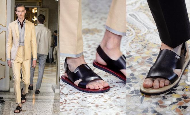Matrimonio Uomo Senza Calze : Sandali uomo per l estate piedi nudi ma anche calzini