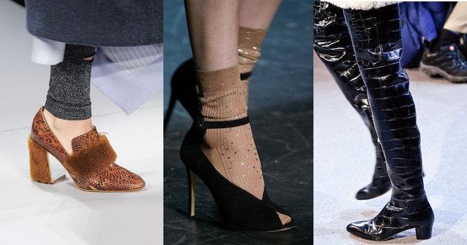 Donna scarpe moda inverno 2016-2017