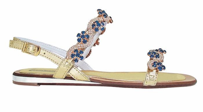 Tosca blu sandali gioiello 2016