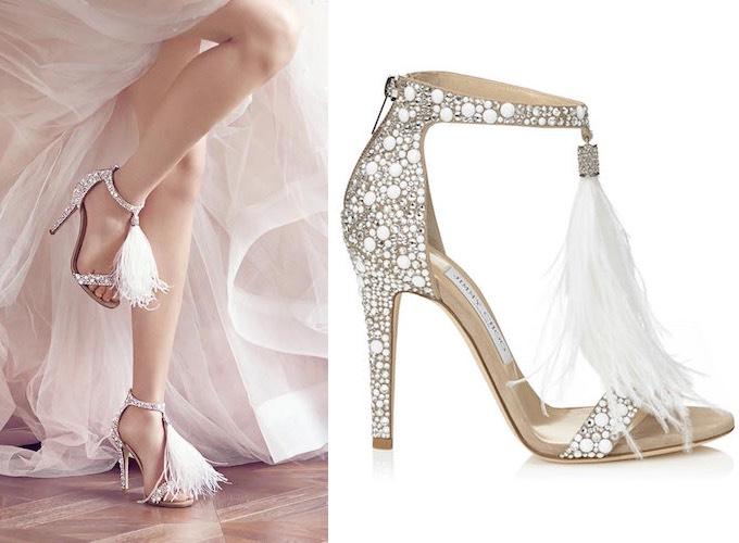 Sandali gioiello sposa 2016