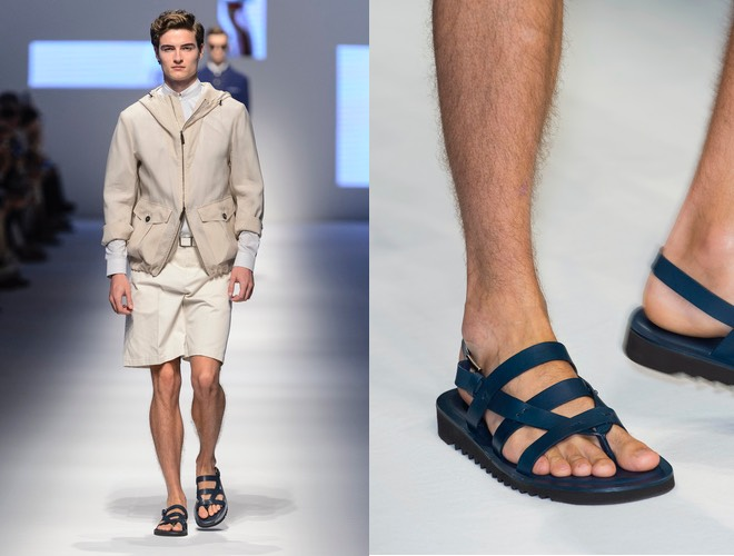 Sandali uomo Canali 2016