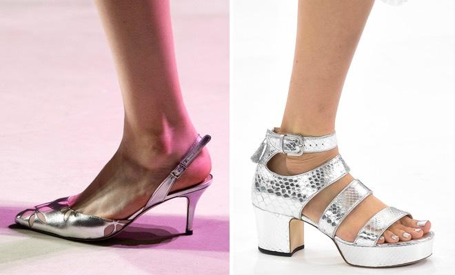 Scarpe donna argento donna 2016