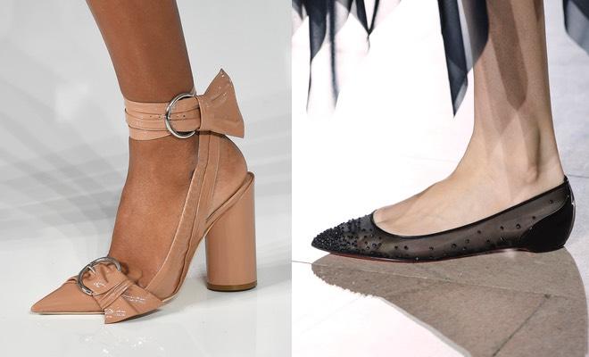 Scarpe con tacco da donna eleganti color Beige Neutro in camoscio