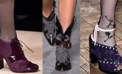 Scarpe moda inverno milano
