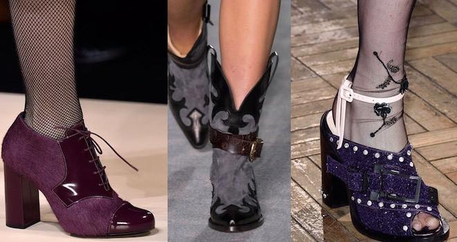 Le scarpe che vanno di moda a Milano. A I 2016-2017 - Scarpe Alte - Scarpe  basse 09da038a7a1