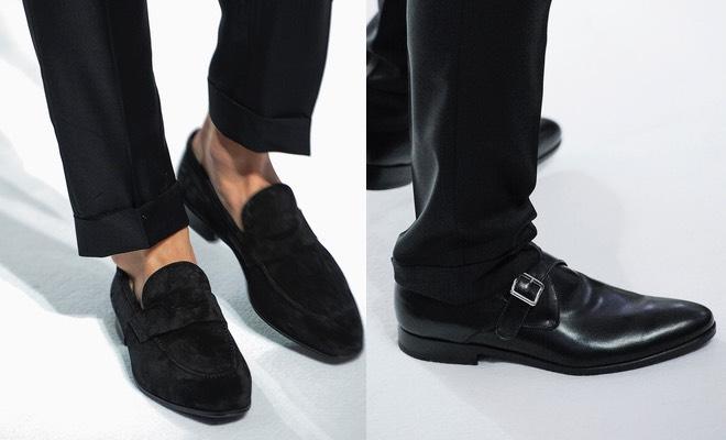 Scarpe nere uomo 2016