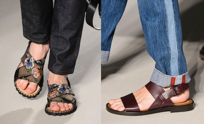 Valentino uomo sandali e Jeans