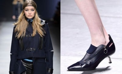 Versace donna scarpe inverno 2016-2017