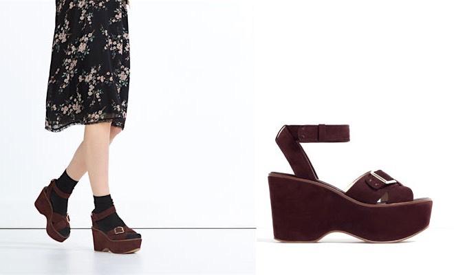 sandali Zara primavera 2016