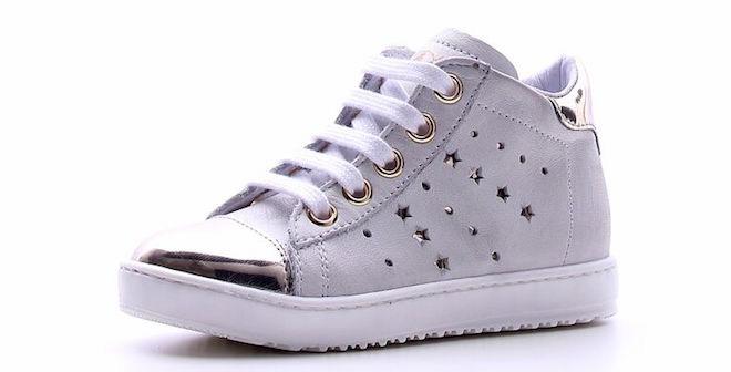 Sneakers dorate per bambina Naturino MAjjwXc