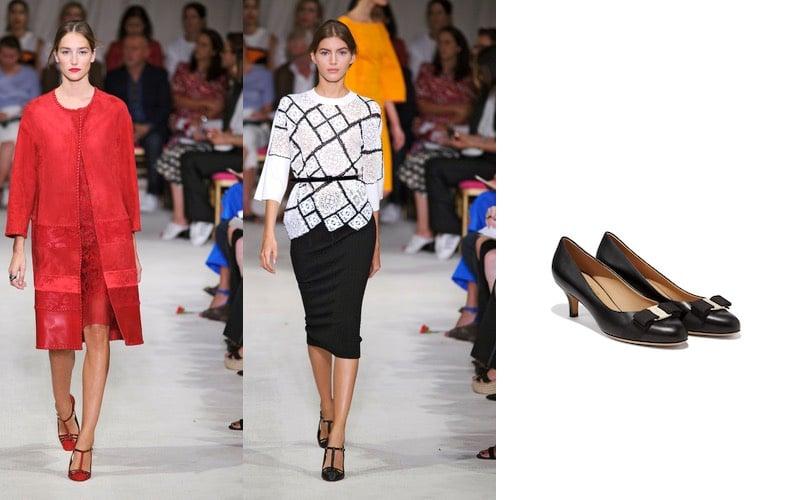 scarpe e vestiti donne 60 anni