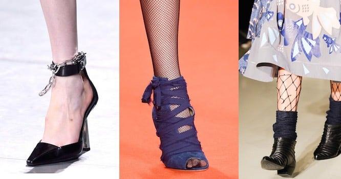 Le scarpe che vanno di moda a Milano. A I 2016-2017 - Scarpe Alte ... d84eb4154db