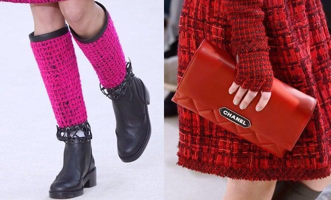 Chanel donna inverno 2016-2017- borse stivali