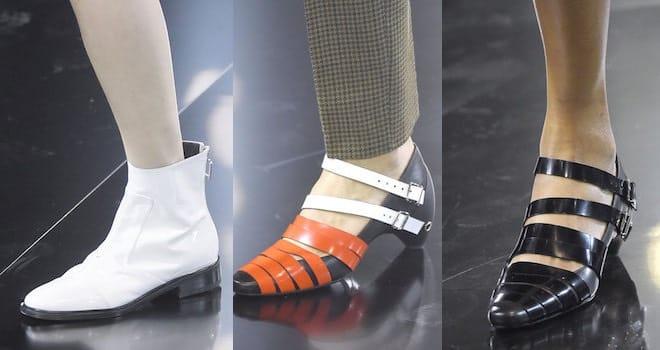 4080ab4533821 Courreges scarpe donna autunno inverno 2016-2017