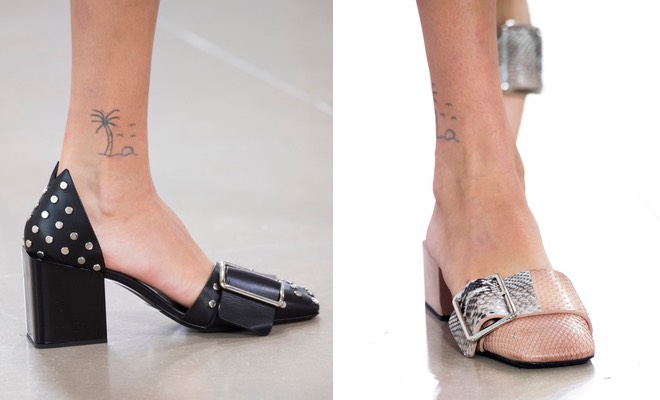 Jil Sander scarpe donna p-e 2016