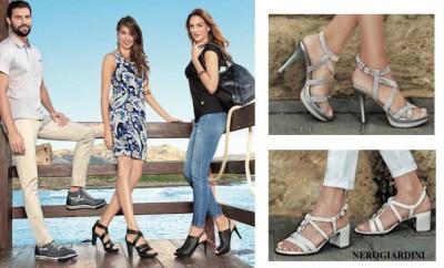 Nero Giardini donna sandali