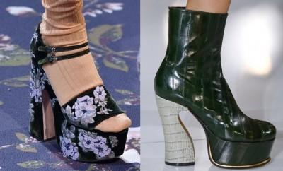 Scarpe moda Parigi