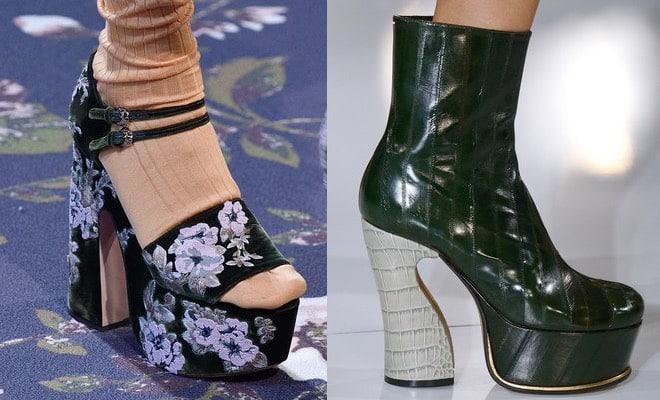 Le scarpe che vanno di moda a Parigi 3e647f10124