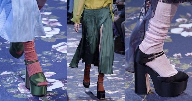d62393980a761 Le scarpe che vanno di moda a Parigi