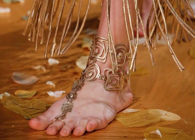 valentino bracciale caviglia