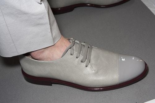 Corneliani scarpe grigie uomo