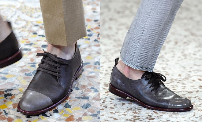 Corneliani scarpe grigie uomo estate 2016