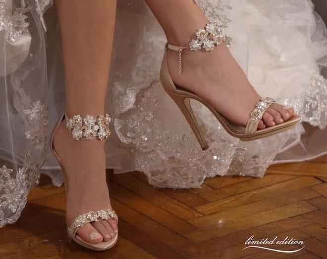 PENROSE sandali sposa