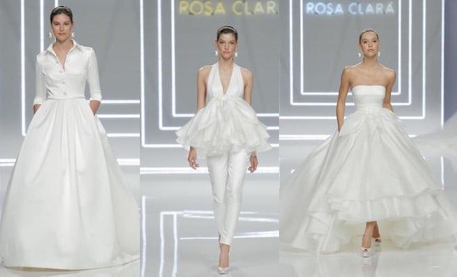 Rosa Clara abiti da sosa 2017
