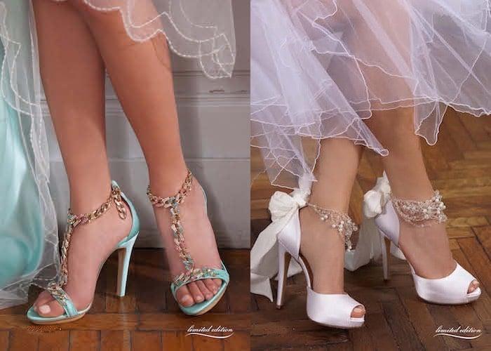 Scarpe Da Sposa Colorate 2016.Penrose Scarpe Sposa Colorate E In Edizione Limitata Scarpe