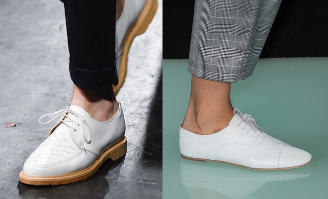 Scarpe bianche uomo eleganti