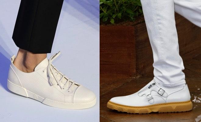Scarpe bianche uomo estate 2016