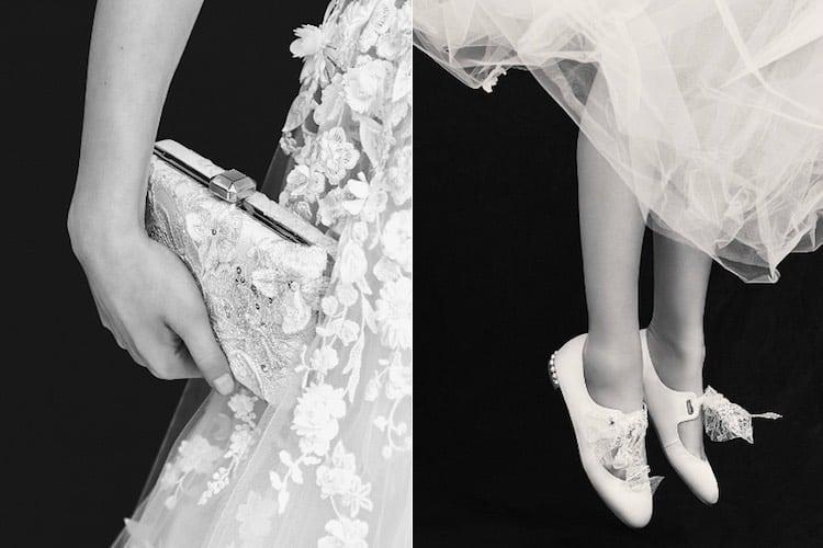 Scarpe borsa sposa Elie Saab