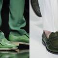 Scarpe chiuse uomo estate verdi